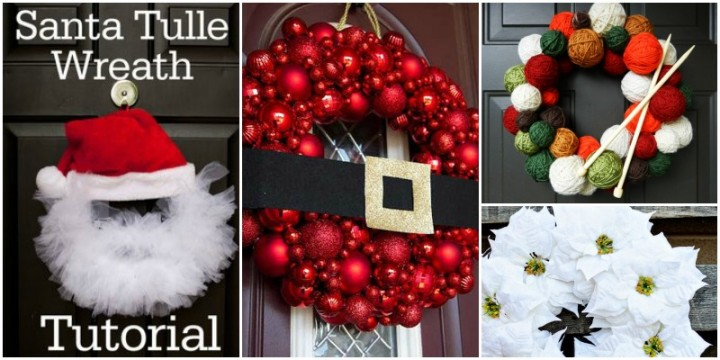 DIY Christmas Wreath Ideas and Projects to Adore Your Home - christmas wreath decorations