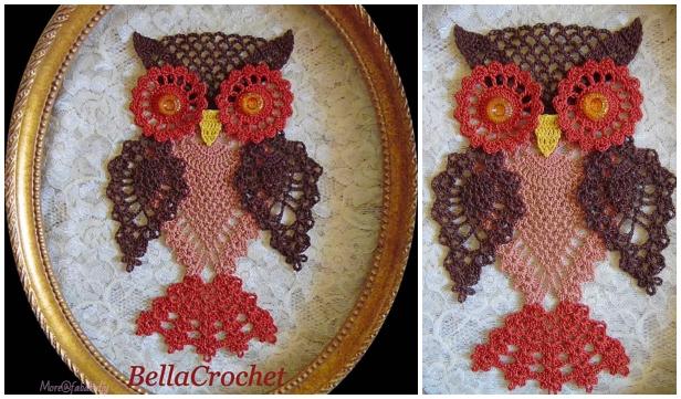 Crochet Pineapple Owl Free Crochet Patterns By Elizabeth