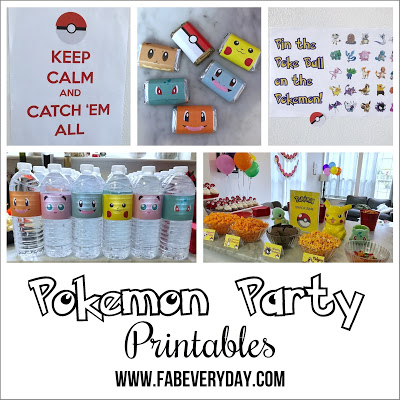 Fab Everyday Party Printables Fab Everyday
