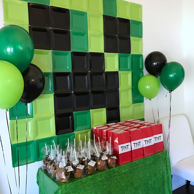 Minecraft-Themed 5th Birthday Party (with Printables!) Fab Everyday