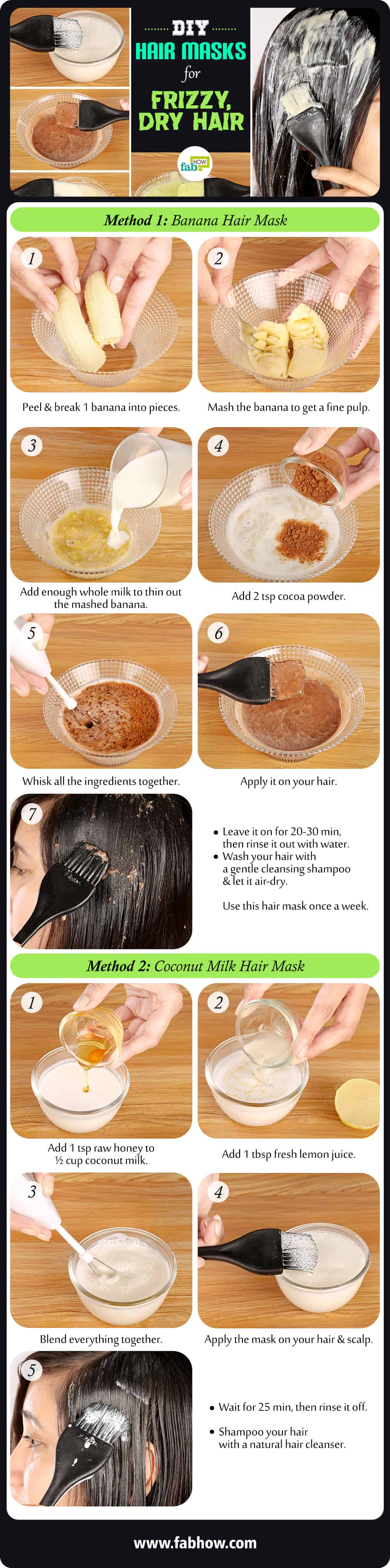 5 Diy Homemade Hair Masks For Dry Dull And Frizzy Hair Fab How