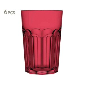 copos coloridos, copo vermelho