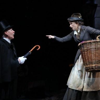 My Fair Lady - Guthrie Theatre - Tony Sheldon and Helen Anker - Photo: Joan Marcus