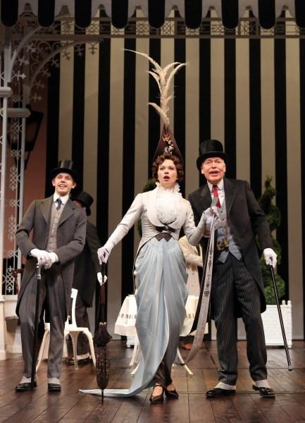 My Fair Lady - Guthrie Theatre - Tyler Michaels, Helen Anker, Tony Sheldon - Photo: Joan Marcus