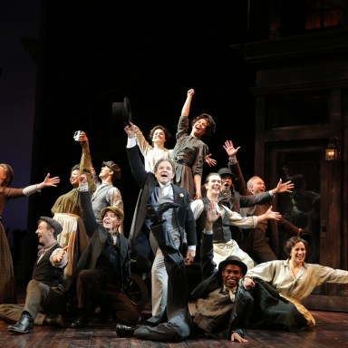My Fair Lady - Guthrie Theatre - Donald Corren and the Company - Photo: Joan Marcus