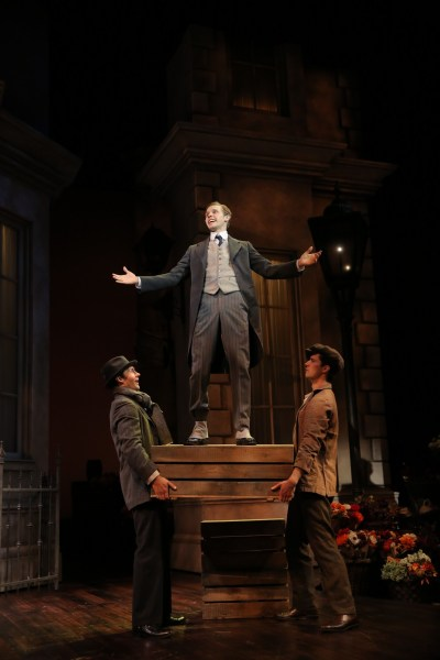 My Fair Lady - Guthrie Theatre - Jared Oxborough, Tyler Michaels, Joe Bigelow  - Photo: Joan Marcus
