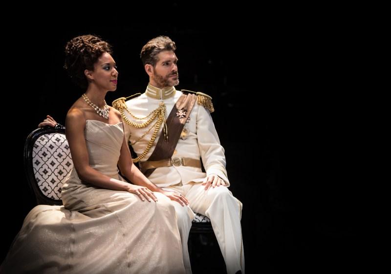 Christina Acosta Robinson and Nicholas Carriere as Hippolita and Theseus   -   Photo: Dan Norman