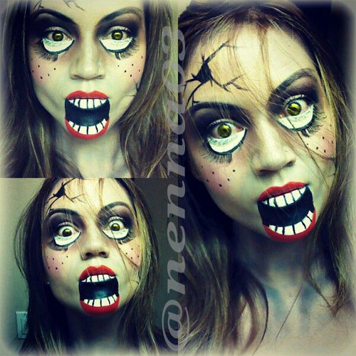 1385079195957png 768×1,644 pixels Halloween! Pinterest - halloween horror makeup ideas