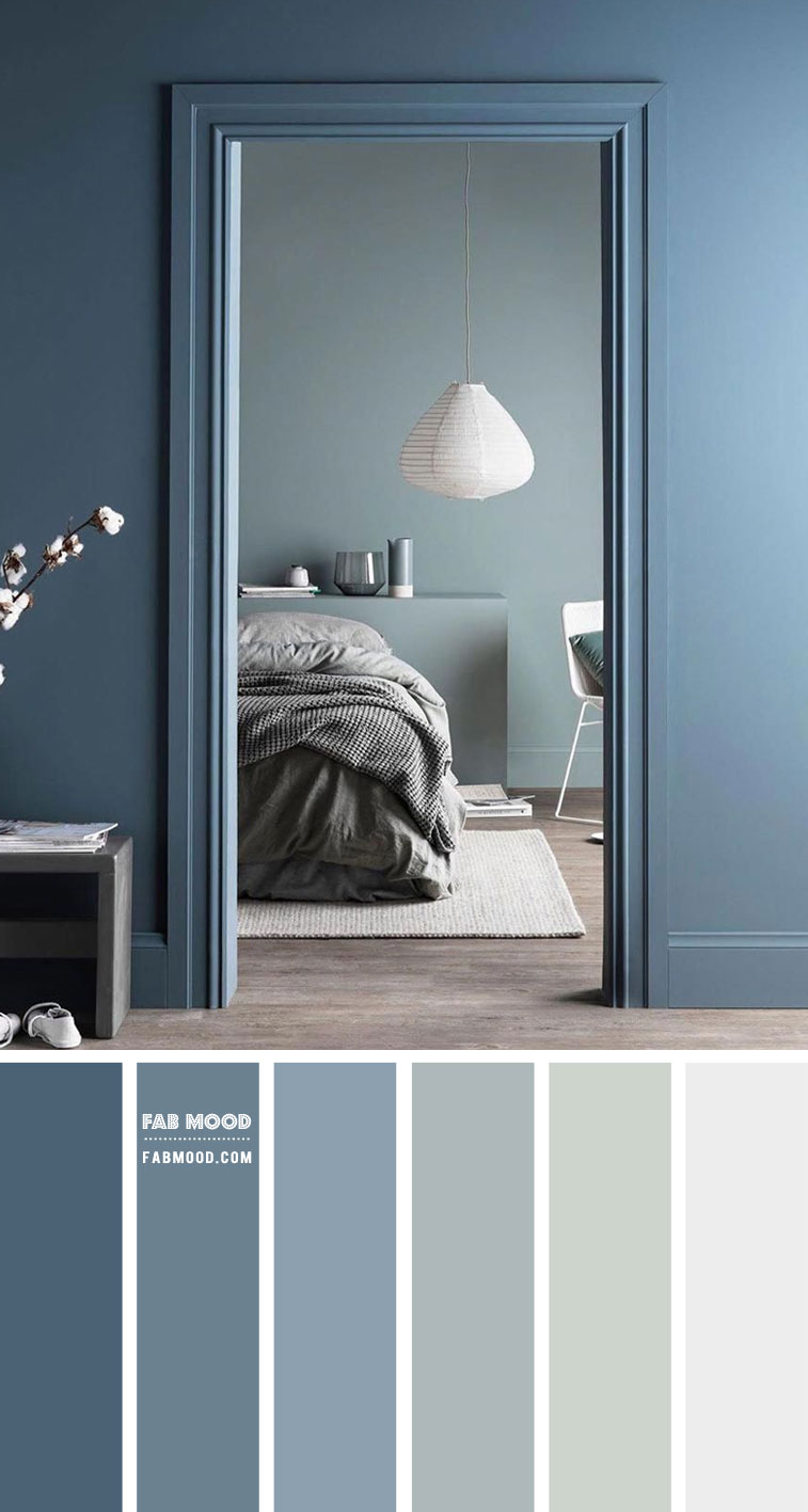 Duck Blue And Sage Color Palette For Bedroom Bedroom Color Ideas