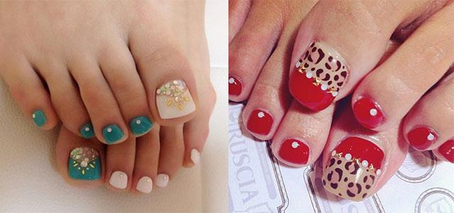 Easy Cute Toe Nail Art Designs Ideas 2013 2014 For