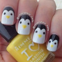 Easy & Cute Penguin Nail Art Designs & Ideas 2013/ 2014 ...