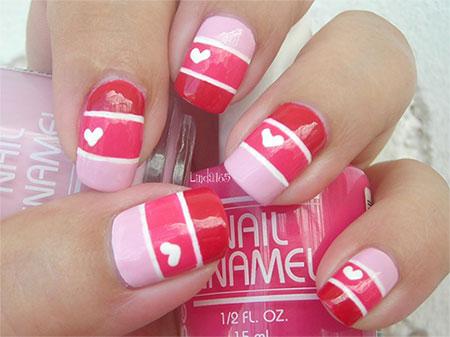Love Nail Art Designs Ideas For Valentine39s Day 2014