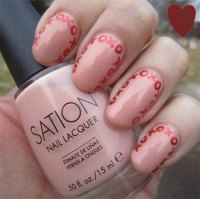 Very Simple & Easy Valentine's Day Nail Art Designs ...