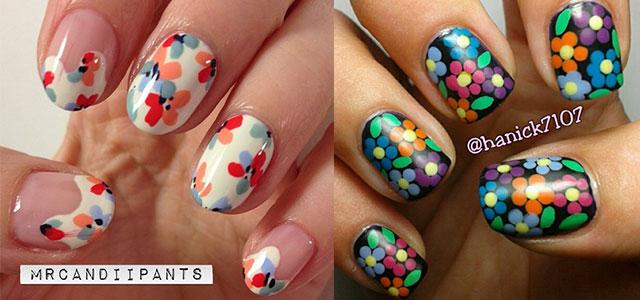 Smashing Spring Time Flower Nail Art Designs Ideas