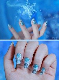 15 + Disney Frozen Elsa Nail Art Designs, Ideas & Stickers ...