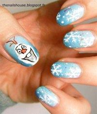 15 Disney Frozen Olaf Nail Art Designs, Ideas, Trends ...