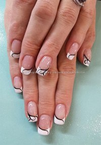 20 + French Gel Nail Art Designs, Ideas, Trends & Stickers ...