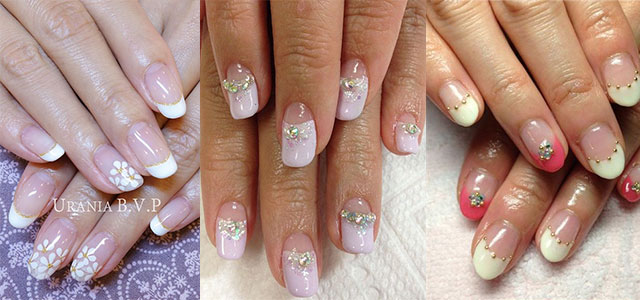 20 French Gel Nail Art Designs Ideas Trends Stickers