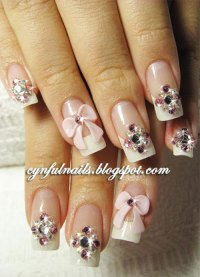 12 + Stylish 3D Bows Nail Art Designs, Ideas, Trends ...