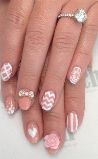 Cute Nail Designs With Bows - Hot Girls Wallpaper