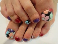 Elegant Fall / Autumn Toe Nail Art Designs, Ideas, Trends ...