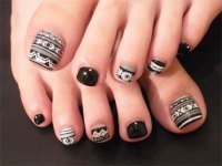 10 Unique Halloween Toe Nail Art Designs, Ideas, Trends ...