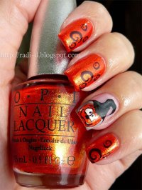 20 + Halloween Pumpkin Nail Art Designs, Ideas, Trends ...