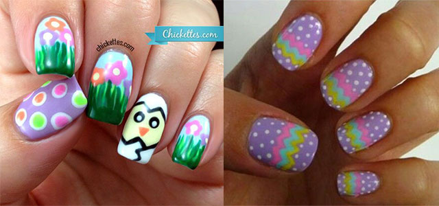 Cute Easter Gel Nail Art Designs Ideas Trends Stickers