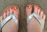 18+ Summer Toe Nail Art Designs, Ideas, Trends & Stickers ...