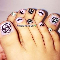 10+ Halloween Toe Nail Art Designs, Ideas, Trends ...