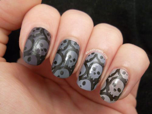 Amazing 18 Simple Halloween Nail Art Designs Ideas Trends Stickers
