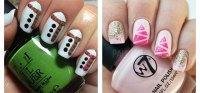 18 Easy & Cute Christmas Nail Art Designs, Ideas & Trends ...