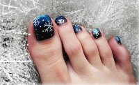 15 Christmas Toe Nail Art Designs, Ideas & Stickers 2015 ...