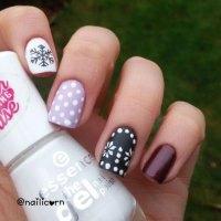 20+ Cute, Simple & Easy Winter Nail Art Designs & Ideas ...