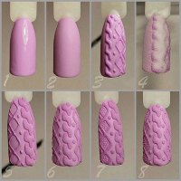 15 + Easy Step By Step Winter Nail Art Tutorials For ...