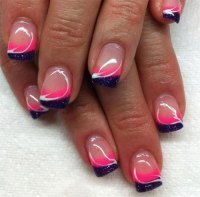 12+ Gel Nails French Tip Designs & Ideas 2016 | Fabulous ...