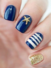 10+ Summer Blue Nail Art Designs & Ideas 2016 | Fabulous ...
