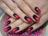 15 Black & Red Gel Nail Art Designs & Ideas 2016 ...