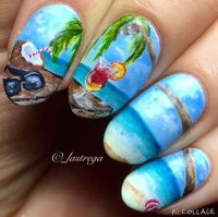 15 Summer Beach Nail Art Designs & Ideas 2016 | Fabulous ...