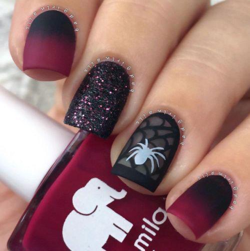 15 Halloween Acrylic Nails Art Designs & Ideas 2016