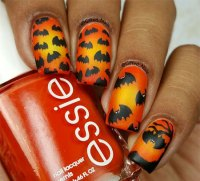 20+ Simple & Easy Halloween Themed Nails Art Designs 2016 ...