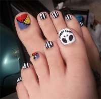12 Halloween Toe Nail Art Designs & Ideas 2016 | Fabulous ...