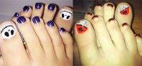 12 Halloween Toe Nail Art Designs & Ideas 2016   Fabulous ...