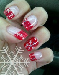 15 Christmas Gel Nails Art Designs & Ideas 2016 | Fabulous ...