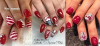 15 Christmas Gel Nails Art Designs & Ideas 2016   Fabulous ...