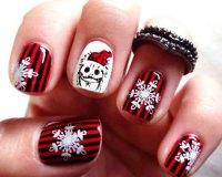 20 Christmas Snowflake Nail Art Designs & Ideas 2016 ...