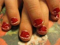 Easy & Cute Christmas Nail Art Designs & Ideas For Kids ...
