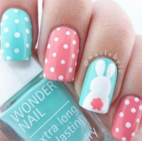 10+ Easter Acrylic Nails Art Designs & Ideas 2017 ...