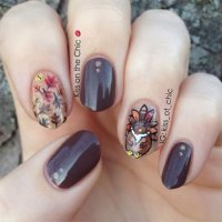 12 Turkey Nail Art Designs & Ideas 2017 | Thanksgiving ...