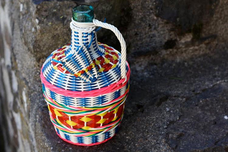 botellas trenzadas scoubidou vintage fabricadeimaginacion39